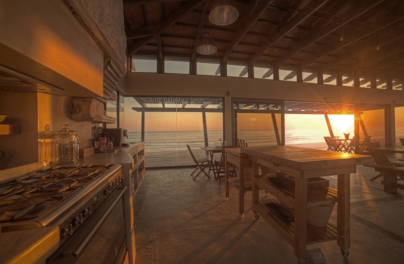 Kitchen area at Sunset