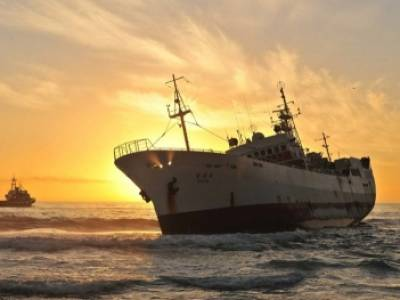Fishing Vessel found close the coast of Henties Bay